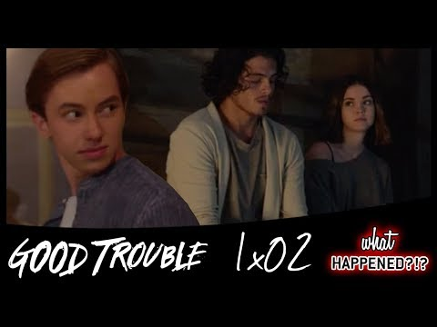 GOOD TROUBLE 1x02 Recap: Jude Comes to Visit - 1x03 Promo | What Happened?!?