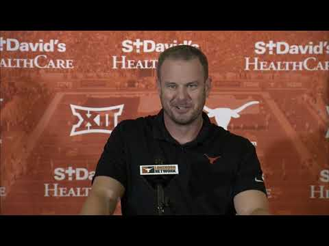 Tom Herman Press Conference [Sept. 9, 2019]