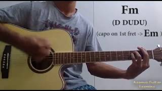 Pachtaoge (Arijit Singh) - Guitar Chords Lesson+Cover, Strumming Pattern, Progressions