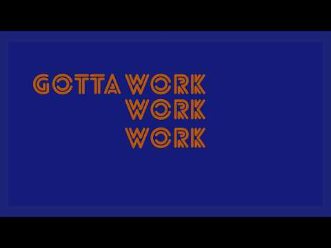 A-Kid - Work (feat. ninjaboi) (Official Lyric Video)