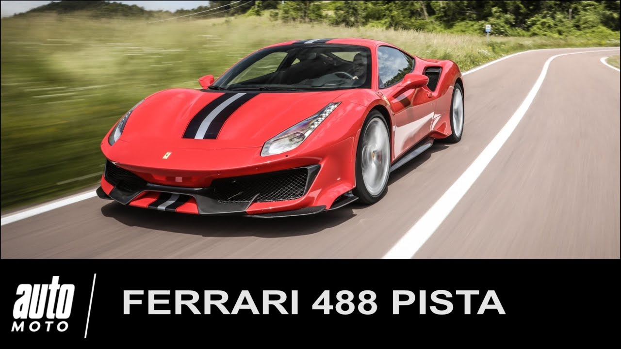 2018 ferrari 488 pista essai pov auto youtube. Black Bedroom Furniture Sets. Home Design Ideas