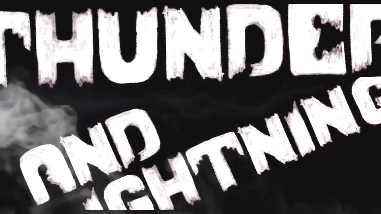 thunder lightning lyrics youtube