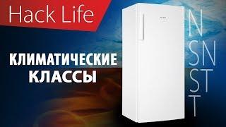 что такое климатический класс холодильника?