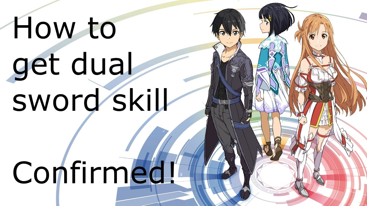 Sword Art Online Hollow Realization: How to get dual sword skill -  Confirmed! [German] by SoulDom4one