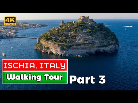 Castello Aragonese Walking Tour (Ischia Part 3)