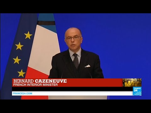 Paris terror attacks: French interior minister Bernard Cazeneuve addresses the press
