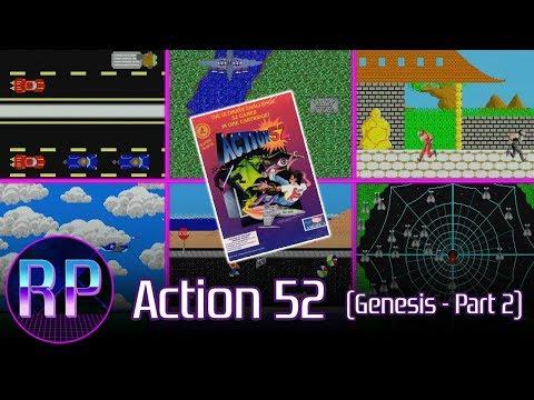 Action 52 (Sega Genesis) Full Catalog Playthrough Part 2/3