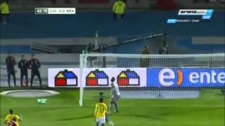 Brazil - Chile vòng loại world cup 2018