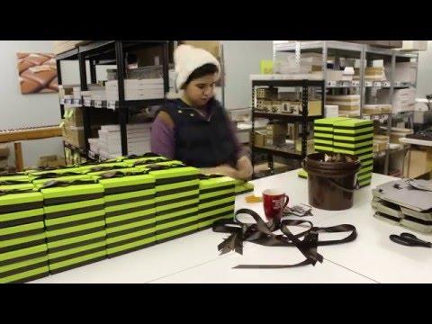Time Lapse: Packing Chocolate Boxes |  Davenportschocolates.co.uk