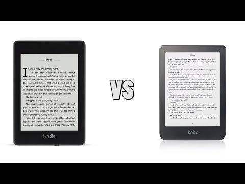 Amazon kindle paperwhite 4 vs kobo clara hd youtube
