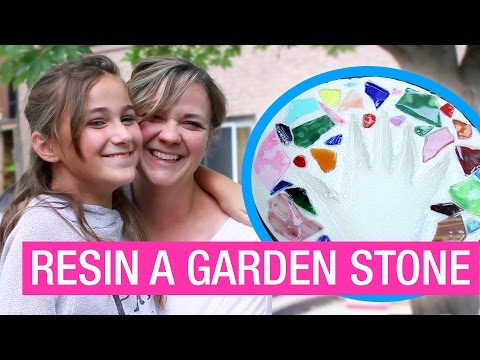 How to Make and Protect a Garden Stepping Stone