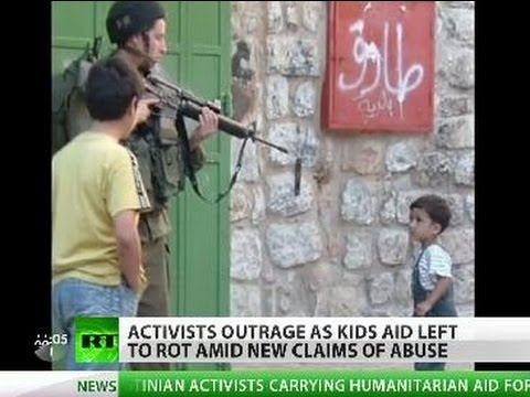 Exposed: IDF Abuses Kids, Uses Children As Human Shield