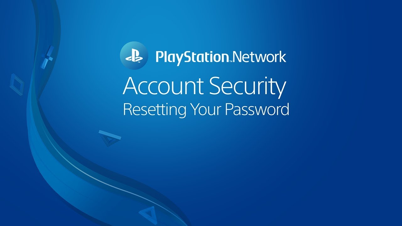 How do I reset my PSN Account Password? - YouTube
