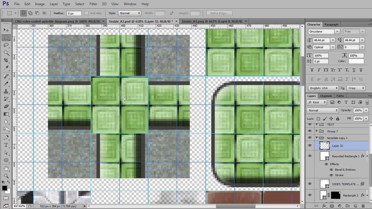 How to Create Autotiles #3 - Creating Seamless Autotiles! - RPG Maker VX  Ace Tutorial