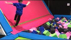 Sky's The Limit Trampoline Park in Elizabethtown [Family Fun Weekend Activity]