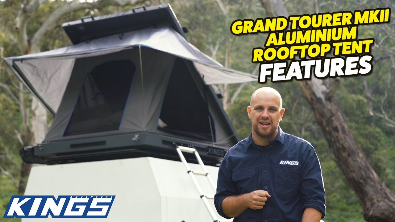 Introducing Kings Grand Tourer Mkii Rooftop Tent New Bracing System Best Value On The Market Youtube