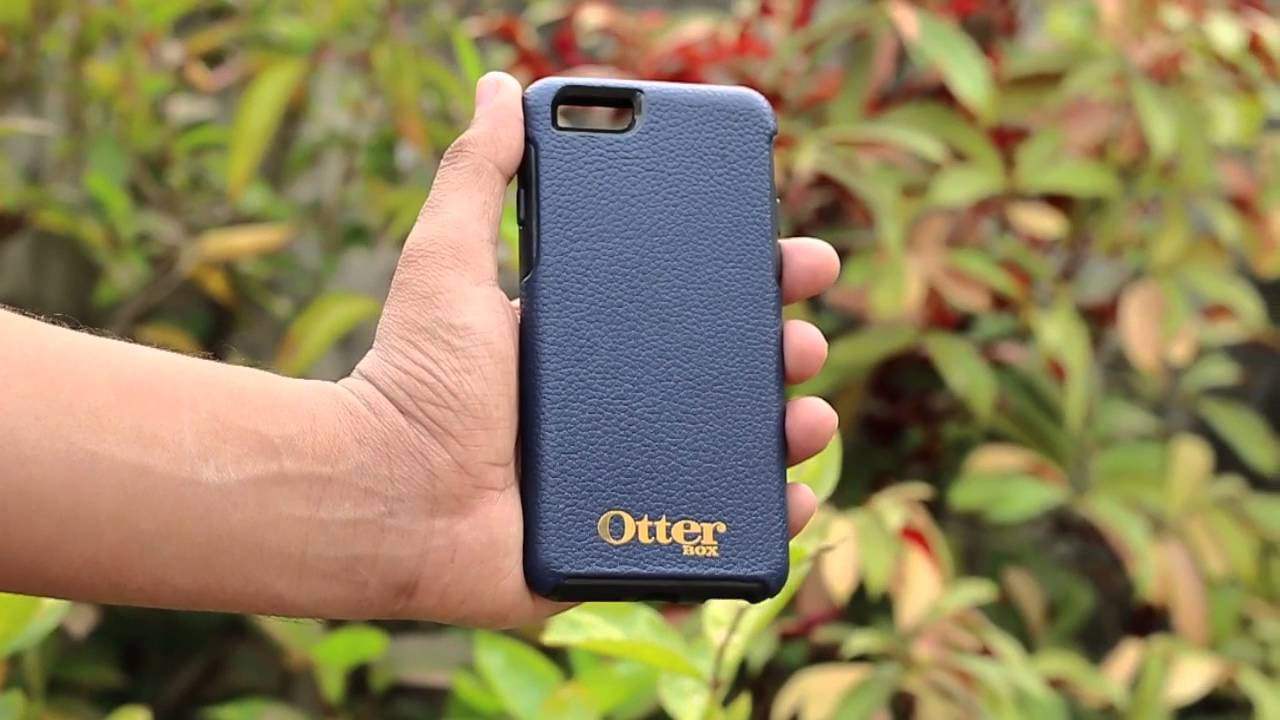 Otterbox Symmetry Case for iPhone 6 - Techniblogic - YouTube