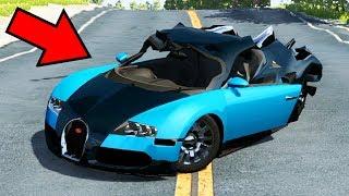 Como destruir uma bugatti veyron de r 10 milhÕes! - beamng drive