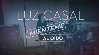 Luz Casal - Miénteme al oído (Lyric Video)