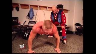 Brock Lesnar And Kurt Angle WWE Funny Moment