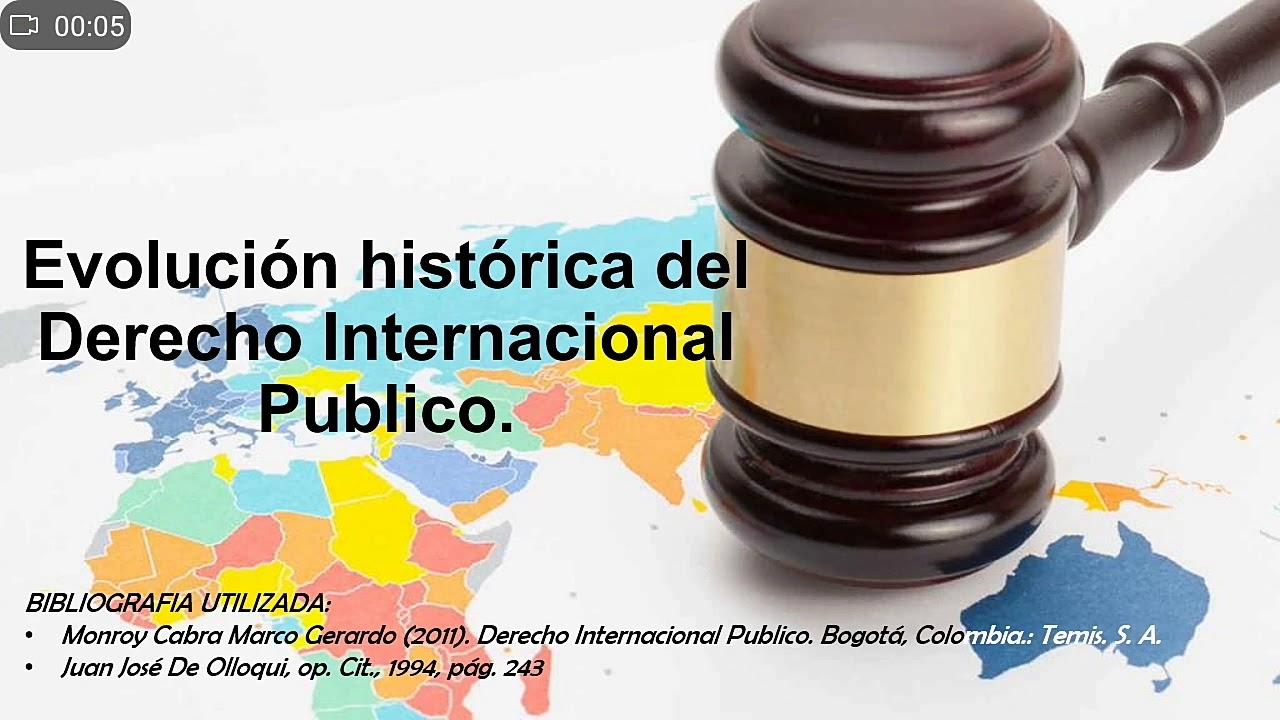 Download Evolución histórica del derecho internacional publicó.
