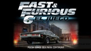Fast & Furious 6:The Game : Game play universal (android,iPhone , iPod y iPad )