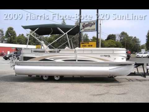 2009 Harris Flote-Bote 220 SunLiner for sale in Angola, IN