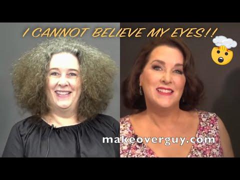 Elizabeth Taylor Reincarnated MAKEOVERGUY® Makeover