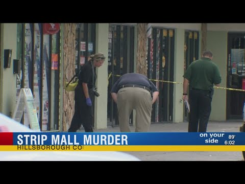 Strip mall murder