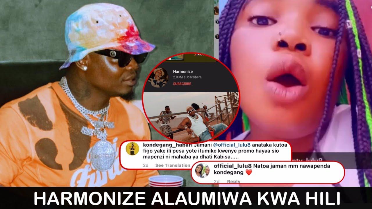 Download HARMONIZE apewa lawama kwa mazito yaliotokea