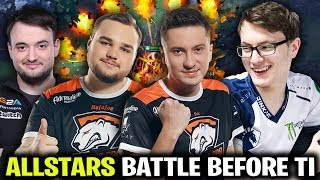 Miracle Solo Cr1t Pieliedie Pasha - Noone Illidan Allstars Match Before TI8