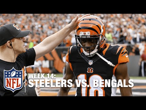 AJ McCarron to A.J. Green For Awesome 66-Yard TD & Punts the Football | Steelers vs. Bengals | NFL