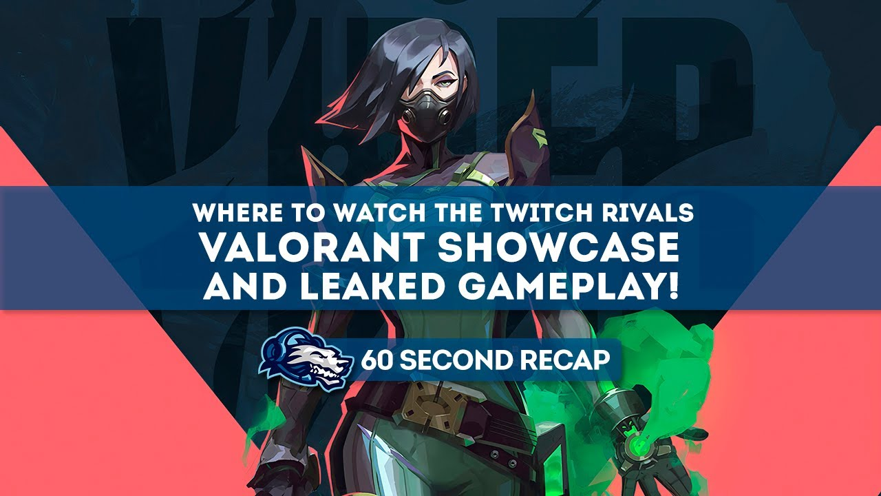 How to watch Valorant's Twitch Rivals event stream