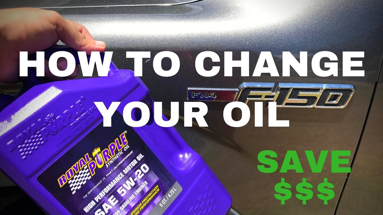 F 150 50 Oil Change Guide 2011 2014 Youtube 2015 Ford Filter Location