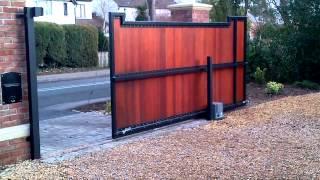 Electric Sliding Gate In Morristown Nj . (800)576-5919