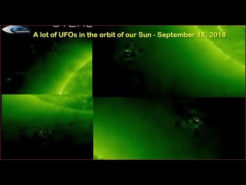 nouvel ordre mondial | A lot of UFOs in the orbit of our Sun - September 18, 2018