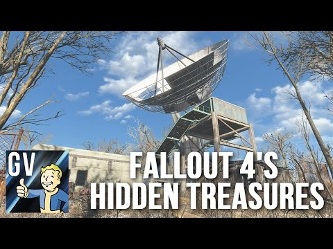 Fallout 4's Hidden Treasures - USAF Satellite Station Olivia