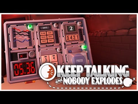Keep Talking and Nobody Explodes! - Pressure Under Fire! (VR Gameplay)