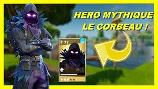 HEROS CORBEAU MYTHICAL! DO YOU have to buy it?! WORLD SAUVER FORTNITE!