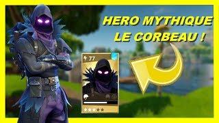 HEROS CORBEAU MYTHIQUE ! FAUT-IL L'ACHETER ?! FORTNITE SAUVER LE MONDE !