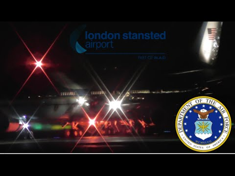 Download President Obama Visits the UK | Air Force One Landing at Stansted Airport