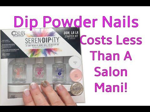 SerenDipIty At Home Dip Powder Nails from Walmart