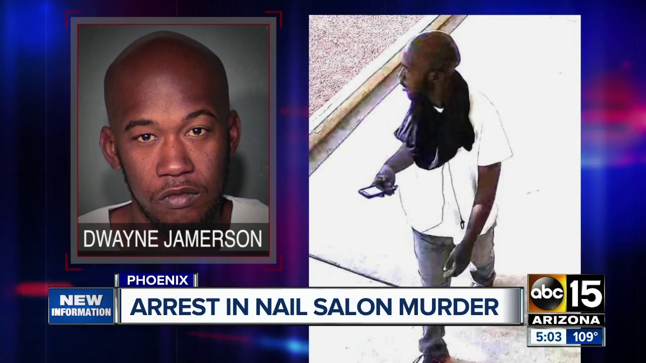 Phoenix, Arizona-Black Man Arrested For Murder of Asian Nail Salon