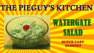 How To Make Watergate Salad (super Easy Dessert)