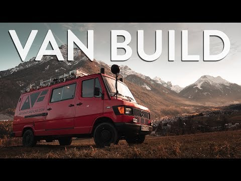 FIRE TRUCK VAN BUILD  |  VAN CONVERSION (in 6min)