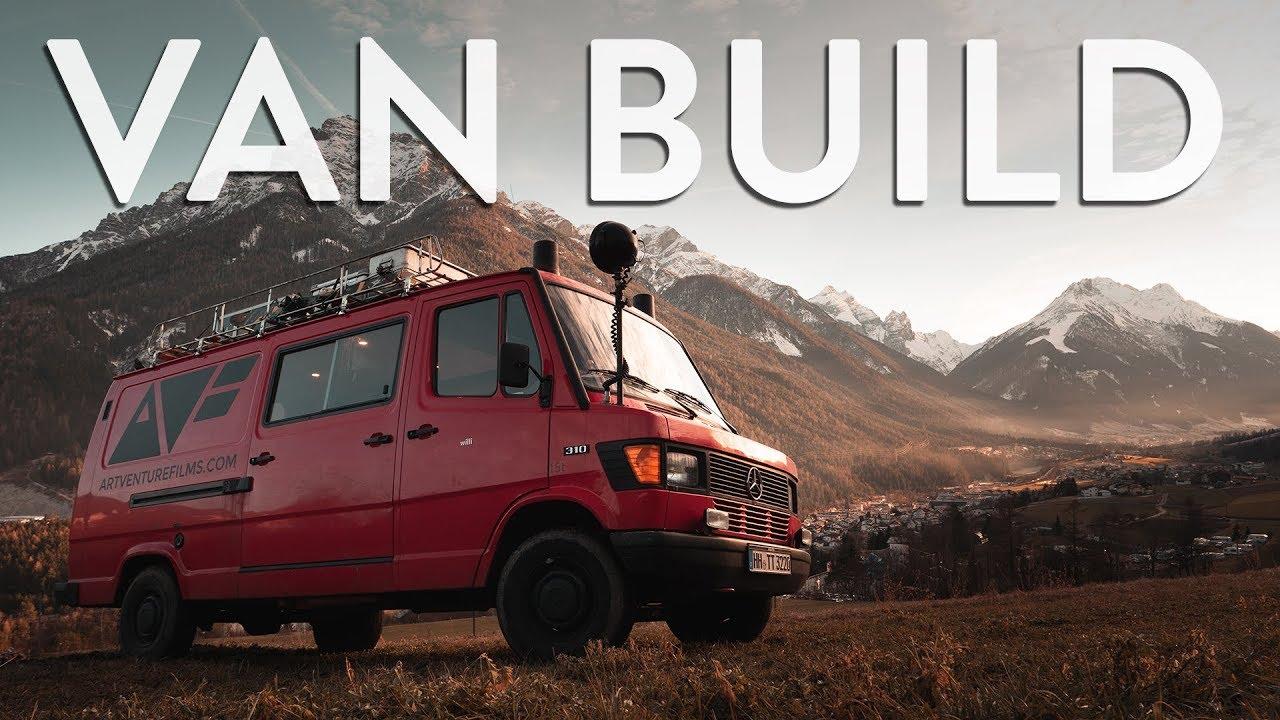 FIRE TRUCK VAN BUILD  |  VAN CONVERSION (in 6min)