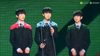 【TFBOYS】QQ音樂盛典 TFBOYS 至尊分享獎