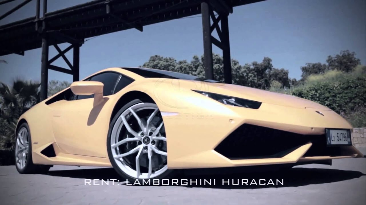 Renting Lamborghini In New York