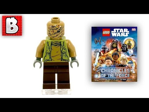 Unkar's Brute Exclusive Minifigure! Lego Star Wars Chronicles Of The Force DK Books | Minifig Review