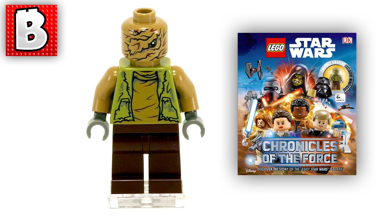 Chronicles of the Force Book LEGO Star Wars NO MINI FIGURE